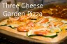 Three Cheese Garden PizzaCR