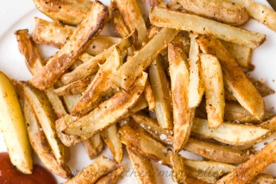 French Fries on Whisk Together